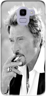johnny hallyday Smoke Cigare Hommage for Samsung Galaxy J6 2018
