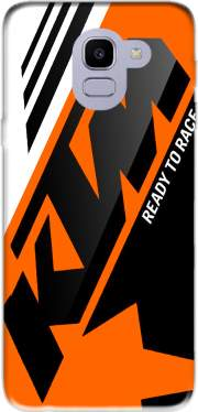 KTM Racing Orange And Black for Samsung Galaxy J6 2018
