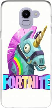 Unicorn video games Fortnite Case for Samsung Galaxy J6 2018