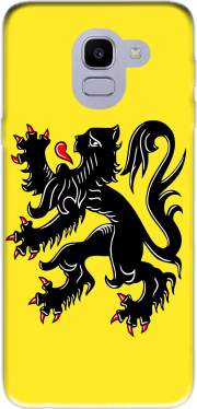 Lion des flandres Samsung Galaxy J6 2018 Case