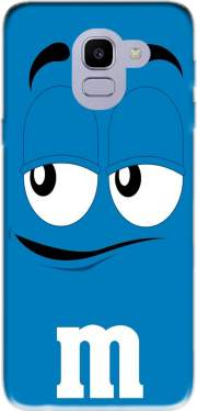 M&M's Blue Case for Samsung Galaxy J6 2018