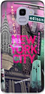New York City II [pink] Case for Samsung Galaxy J6 2018
