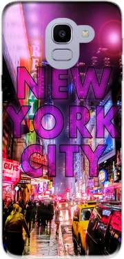 New York City - Broadway Color Case for Samsung Galaxy J6 2018