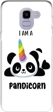 Panda x Licorne Means Pandicorn Case for Samsung Galaxy J6 2018