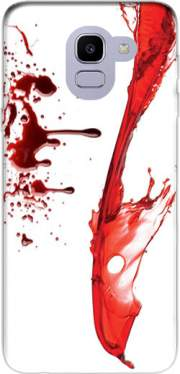 Pool of blood Case for Samsung Galaxy J6 2018