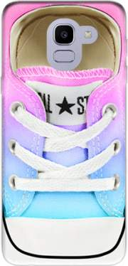 All Star Basket shoes rainbow Case for Samsung Galaxy J6 2018