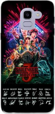 Stranger Things 3 Signature Limited Edition Samsung Galaxy J6 2018 Case