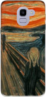 The Scream Case for Samsung Galaxy J6 2018