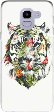 Tropical Tiger Case for Samsung Galaxy J6 2018