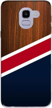 Wooden New England for Samsung Galaxy J6 2018