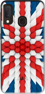 3D Poly Union Jack London flag Case for Samsung Galaxy A20E