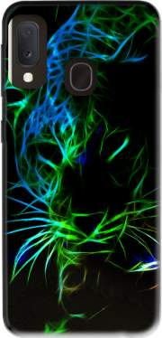 Abstract neon Leopard Case for Samsung Galaxy A20E