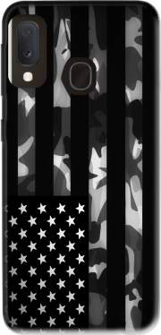 American Camouflage Case for Samsung Galaxy A20E