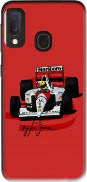 Ayrton Senna Formule 1 King Case for Samsung Galaxy A20E