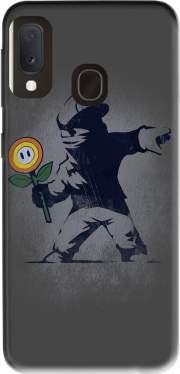 Banksy Flower bomb Case for Samsung Galaxy A20E