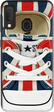 All Star Basket shoes Union Jack London Case for Samsung Galaxy A20E