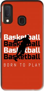 Basketball Born To Play Samsung Galaxy A20E Case