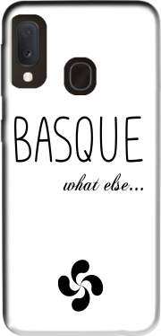 Basque What Else Samsung Galaxy A20E Case