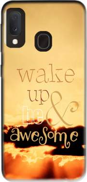 Be awesome Samsung Galaxy A20E Case