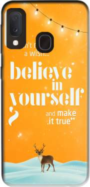 Believe in yourself Samsung Galaxy A20E Case