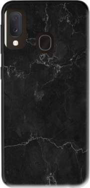 Black Marble Samsung Galaxy A20E Case