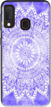Bohemian Flower Mandala in purple Case for Samsung Galaxy A20E