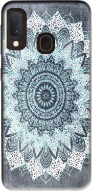 Bohochic Mandala in Blue Case for Samsung Galaxy A20E