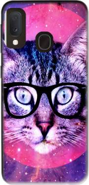 Cat Hipster Case for Samsung Galaxy A20E