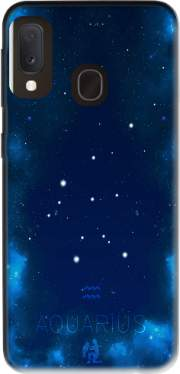 Constellations of the Zodiac: Aquarius Case for Samsung Galaxy A20E