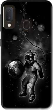 Deep Sea Space Diver Case for Samsung Galaxy A20E