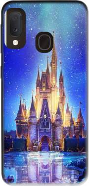 Disneyland Castle Samsung Galaxy A20E Case