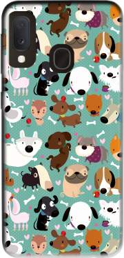 Dogs Case for Samsung Galaxy A20E