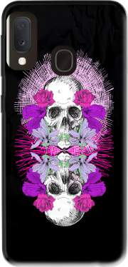 Flowers Skull Case for Samsung Galaxy A20E