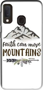 Faith can move montains Matt 17v20 Bible Blessed Art Case for Samsung Galaxy A20E