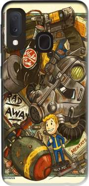 Fallout Painting Nuka Coca for Samsung Galaxy A20E