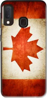 Canadian Flag Vintage Case for Samsung Galaxy A20E