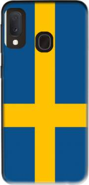 Flag Sweden Case for Samsung Galaxy A20E