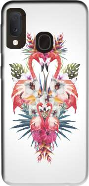 Flamingos Tropical Case for Samsung Galaxy A20E