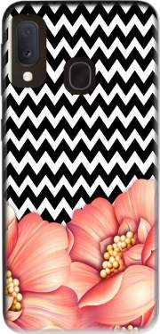 flower power and chevron Case for Samsung Galaxy A20E