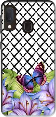 flower power Butterfly Case for Samsung Galaxy A20E