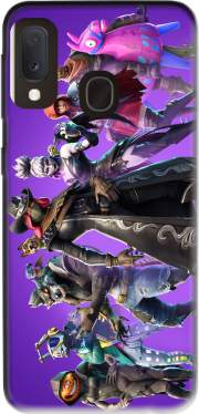 fortnite Season 6 Pet Companions Case for Samsung Galaxy A20E
