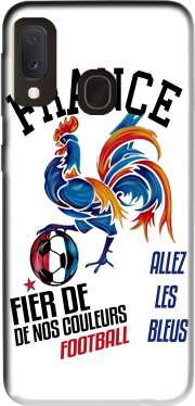France Football Coq Sportif Fier de nos couleurs Allez les bleus Case for Samsung Galaxy A20E