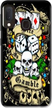 Love Gamble And Poker Case for Samsung Galaxy A20E