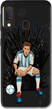 Game of Thrones: King Lionel Messi - House Catalunya Case for Samsung Galaxy A20E