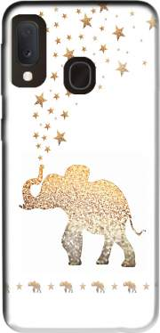 Gatsby Gold Glitter Elephant Case for Samsung Galaxy A20E