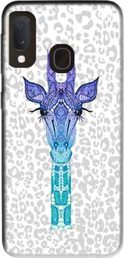Giraffe Purple Case for Samsung Galaxy A20E