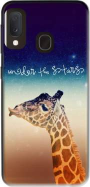 Giraffe Love - Right Case for Samsung Galaxy A20E
