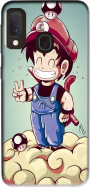 Goku-mario Case for Samsung Galaxy A20E