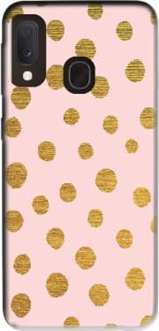 Golden Dots And Pink Case for Samsung Galaxy A20E