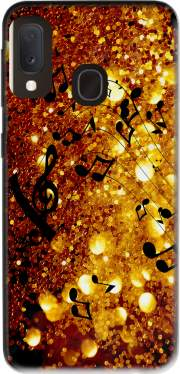 Golden Music Case for Samsung Galaxy A20E